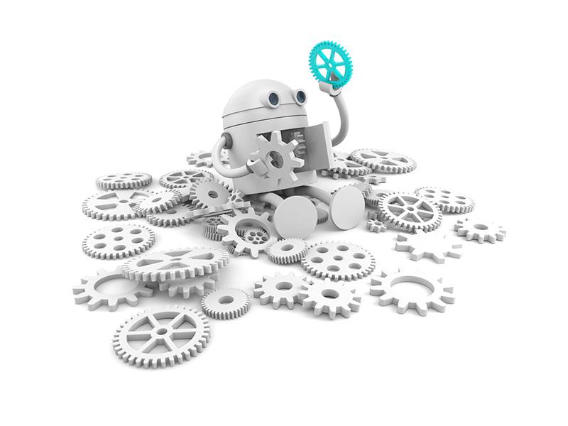 robot qui cherche les fiches pratiques